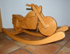 Schaukel Motorrad Schaukelmotorrad Holz Holzspielzeug