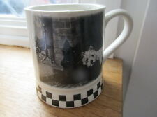 BLACK AND WHITE WHISKY TANKARD/MUG UNUSED