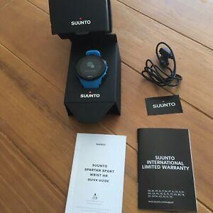Suunto Spartan Sport Polyamide Blue Wrist HR Watch - SS022663000