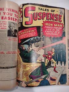 Tales of Suspense bound set 48 49 50 51 54 55 - 1st Mandarin