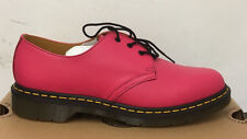 DR. MARTENS 1461 NEON PINK SOFTY T   LEATHER  SHOES SIZE UK 3