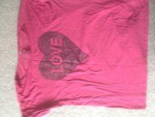 Ladies Pink, Short Sleeved Top. NEXT SPORT. Size 8