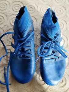 Adidas ~ Boys or Girls Blue Soccer Cleats ~ Size 1