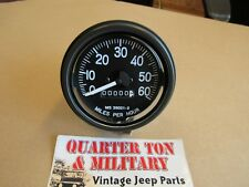 Willys Jeep M38 M38A1 M170 M151 correct M-series military speedometer