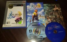 Final Fantasy X (10) first Release Bonus DVD Version ps2 sony playstation 2 vgc