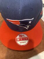 NFL New England Patriots Snapback Hat Cap Blue Red