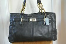 Coach Leather Handbag Chelsea Jayden Shoulder bag Black EUC