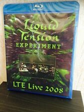 Liquid Tension Experiment LTE Live 2008 Blu-Ray Disc