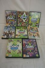 Sims 3 & x 7 Sims 3 Expansion Packs - PC Games - Gaming - Discs Only - Job Lot
