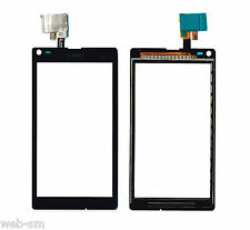 TOUCH SCREEN VETRO VETRINO SONY XPERIA L S36H C2104 C2105 NERO BLACK