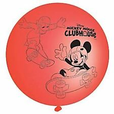 4 x Disney Mickey mouse Clubhouse red Punchball Balloons