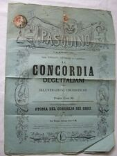 More details for austria imperial journal arms 2k used on 1864 magazine sent to venezia