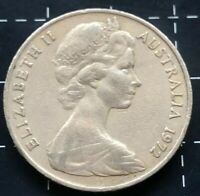 1972 AUSTRALIAN 20 CENT COIN