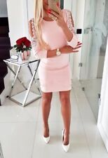 UK Womens Bodycon Short Mini Dress Off Shoulder Evening Party Clubwear Dresses