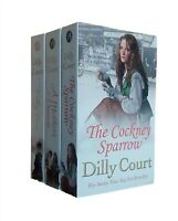 Dilly Court 3 Book Romance Saga Cockney Sparrow Tilly True Mother's Promise New