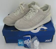 ASICS Gel Respector Sneaker Shoe Slight White Mens Size 8.5 with Box H6U3L 9999
