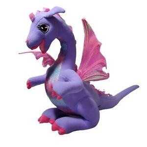 Barbie Rapunzel Penelope Plush Dragon Electronic Talks & Moves TESTED WORKS EUC