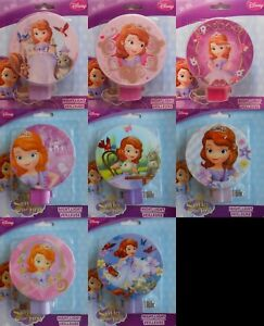 Night Light Disney SOFIA THE FIRST Children's Room Hallway Bedroom 8 Styles