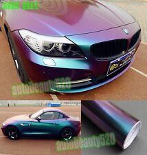 Full Car Wrap - CBW Glossy Chameleon Vinyl Sticker Decal Green / P 65FT x 5FT
