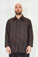 Barbour Beaufort Jacket Brown Casual Cotton Size C 46 - XL Man Man