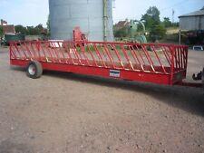 Portequip sheep / calf feeder trailer