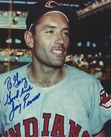 Jimmy Piersall 8 X 10 Autographed Photo Cleveland Indians