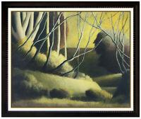 Robert Kipniss Large Original Oil Painting On Canvas Tree Landscape Signed Art
