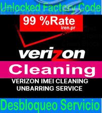 Verizon IMEI FIX ESN Unbarring Service iPhone xs max, x, 7 8 Samsung CLEAN