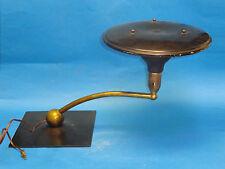 VINTAGE M.G. WHEELER SIGHT LIGHT MID-CENTURY INDUSTRIAL DESIGN TABLE LAMP WORKS