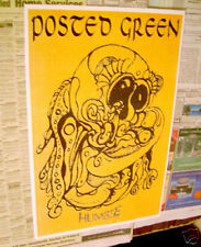 Posted Green Humble • 1995 retailer promo Poster 11 inches x 18 inches