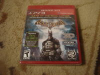 Batman: Arkham Asylum  (Sony Playstation 3, 2009)