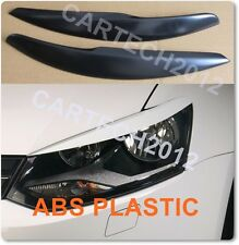 VW POLO MK5 6R 2009+ eyebrows  ABS plastic, tuning