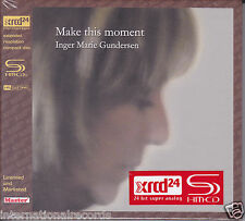 """Inger Marie Gundersen Make This Moment"" JVC Japan HR Cutting SHM-XRCD XRCD24 CD"