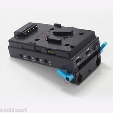 4K Film Camera V-Mount Battery HDMI Splitter Power Supply Station fr 5D3 5D4