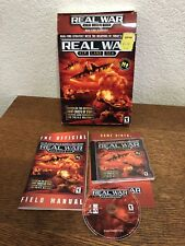PC Real War Air Land Sea Big Box Complete