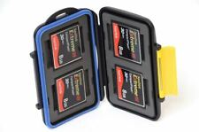 FOUR Sandisk Extreme III 8GB 30MB/s CF Memory Cards w/ Waterproof Case (32GB)