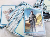 VINTAGE 1980 Star Wars Trading Cards EMPIRE STRIKES BACK MOVIE FACTS