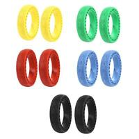2pcs Shock Absorption Solid Tires 8.5 inch for M365 Electric Scooter Tackle H1
