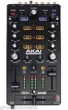 AKAI AMX Midi Controller Scheda Audio Serato per Dj Mac Pc Cue Sync Loop NUOVO