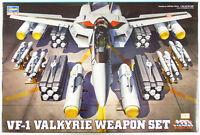 Hasegawa Macross MC04 VF-1 Valkyrie Weapon Set 1/48 scale kit