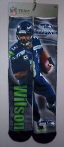 Seattle Seahawks Russell Wilson Socks