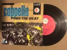 """Chapelle 7"""" - Push the Beat-Rapide Globe Records FGL1-Electronic House"""