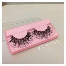 Wispy False Eyelashes / extra long lash / fake lashes / strip lash / thin band