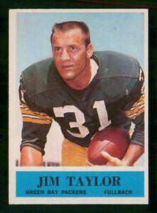 JIM TAYLOR 1964 PHILADELPHIA NO 80 EX+ 28673
