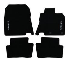 Nissan Qashqai (2014 -2017) Textile Car Mats Standard Front & Rear Black