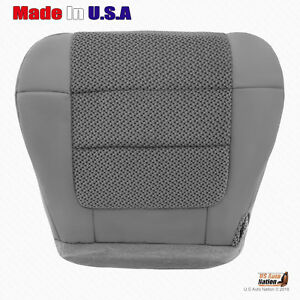 """2000 to 2003 Ford F150 XLT Driver Bottom Cloth Seat Cover Dark Graphite """"Gray"""""""