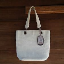 Sun n Sand Tote Shoulder Bag Cream Off White Purse Naturally Renewable Materials