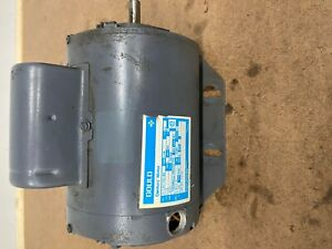 Gould Century Electric Motor 1/3 HP 115/230 V 5.8 Amp 1725 RPM  7-141242-30 C110