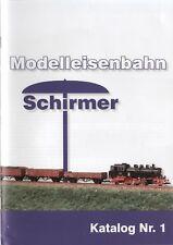 catalogo SCHIRMER Modelleisenbahn 2012 Katalog Nr,1 Spur TT       D           bb