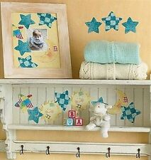 Sun Moon Stars Wallies Susan Winget Wallpaper Cutout Wall Decor Baby Room Crafts